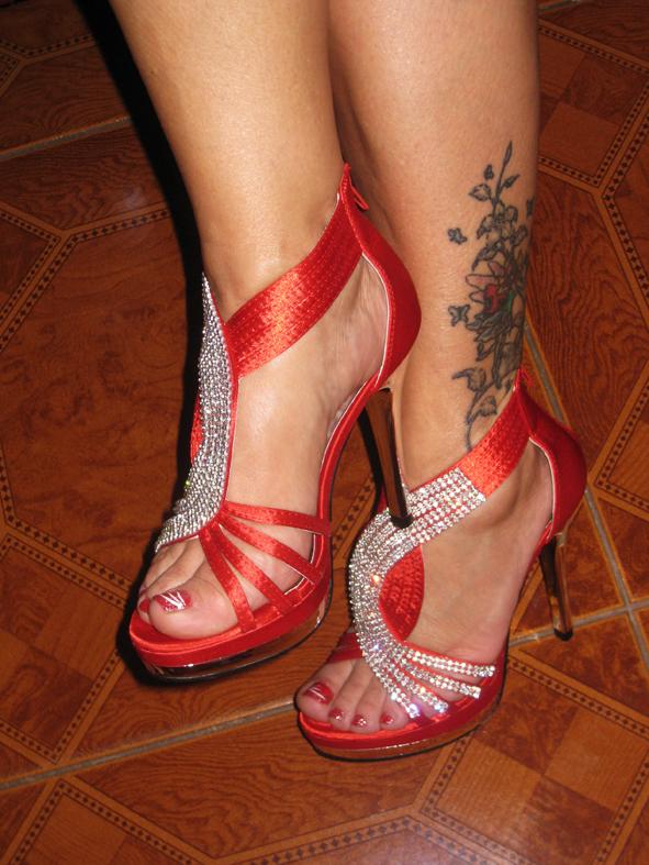 Fußerotik-Massage mit Corina