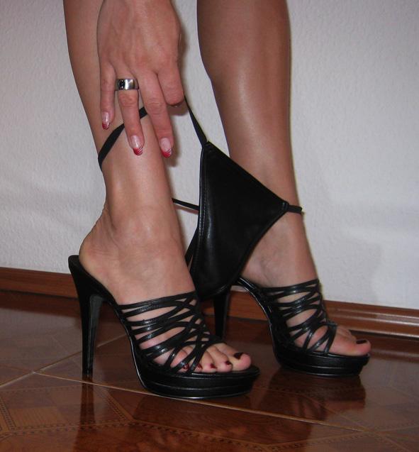 Fußerotik-Massage mit Manuela